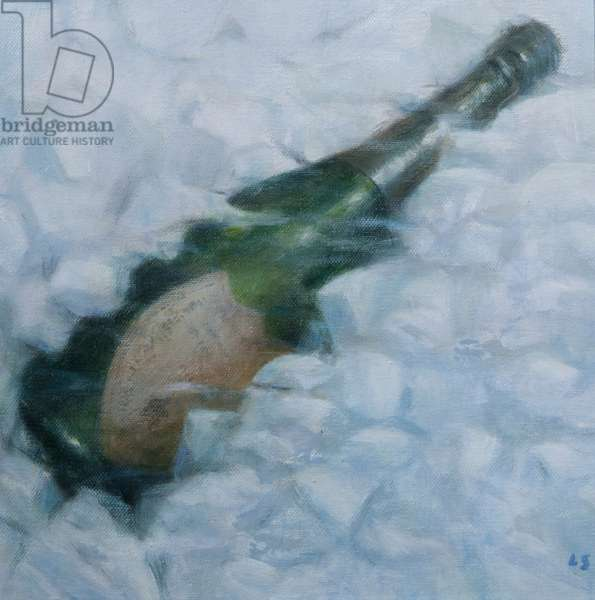 Champagne on ice, 2012 (acrylic on canvas)