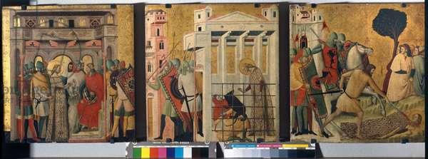 Stories of Saint Columba, 1345-50 (tempera on board)