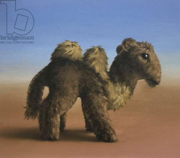 Camel, 2017, (oil on canvas)