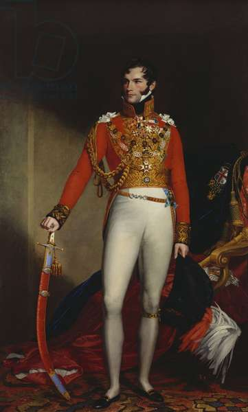 Leopold I, King of the Belgians (1790-1865), c.1844-50 (oil on canvas)