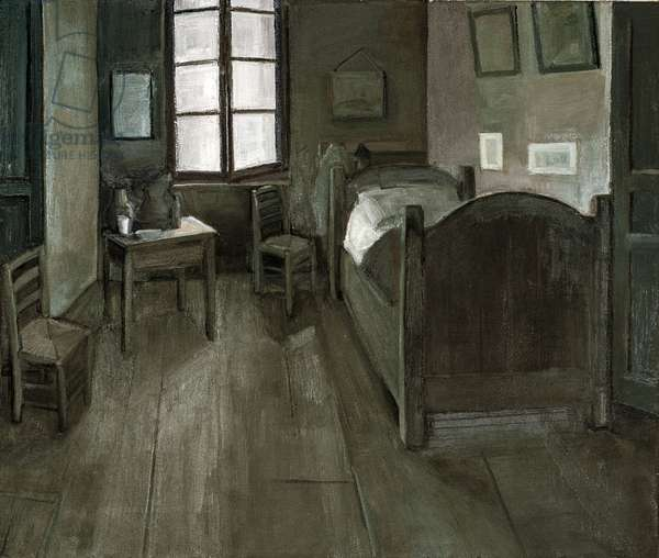 Bedroom 1888, 2015 (oil on canvas)