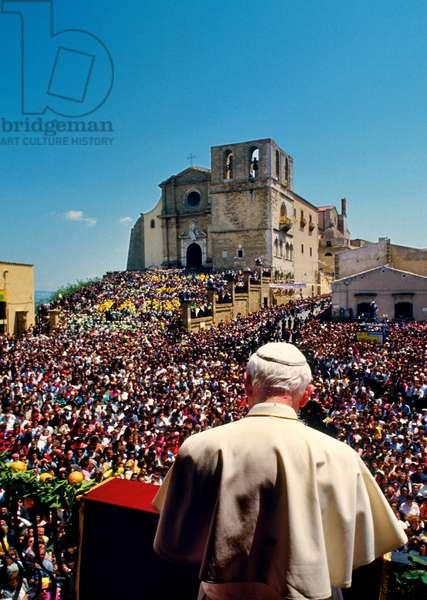 Pope John Paul II, Agrigento, Italy