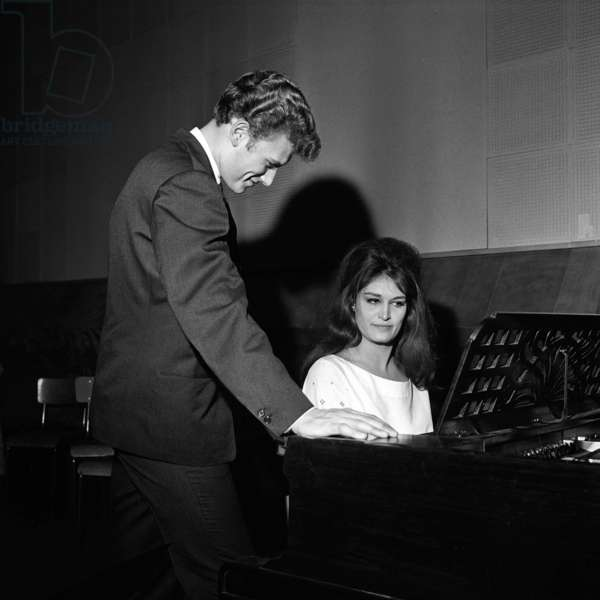 Johnny Hallyday and Dalida