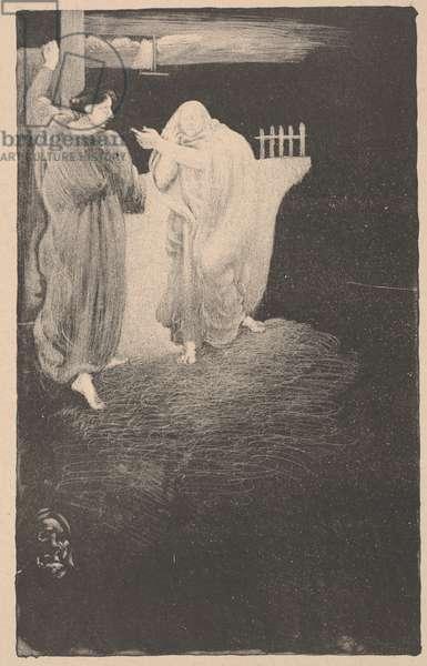 The Phantom, 1895 (litho)