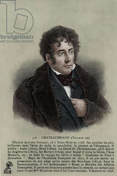 Viscount Chateaubriand - French writer