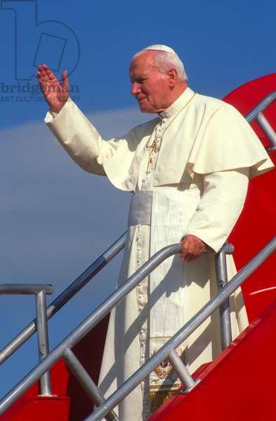 Pope John Paul II, United States