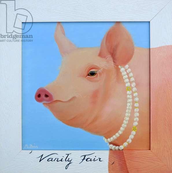 Vanity Fair, 2012 (oil on canvas)