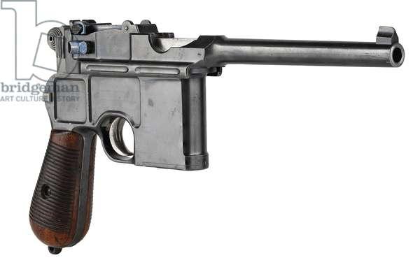 Mauser Model C96 centrefire self loading pistol (wood & metal)