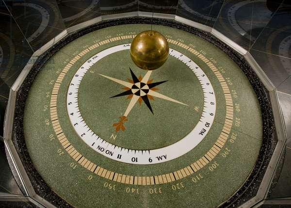 The Foucault Pendulum At The Museum Of Science And Industry (photo)