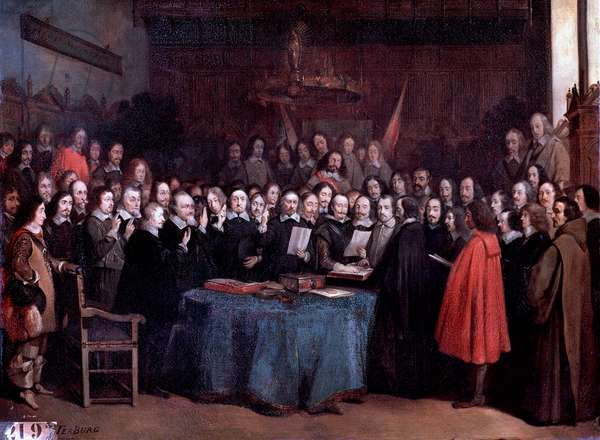 Treaty of Muenster (Painting, 1648)