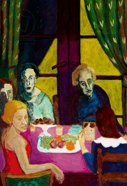 Commemoration, c.1993 (oil on canvas)