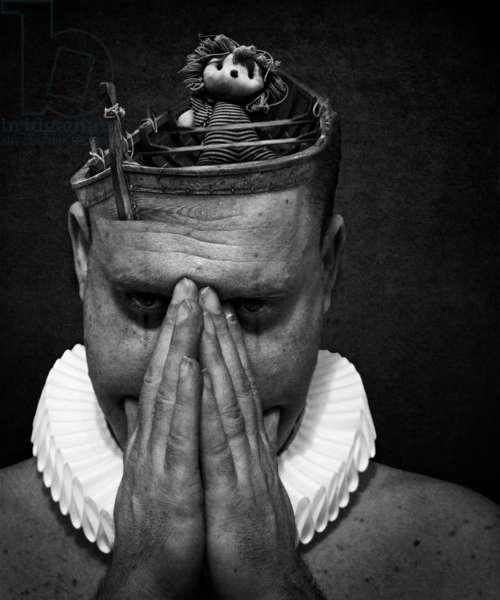 A clowns death (serie), 2014 (photo art digital art)