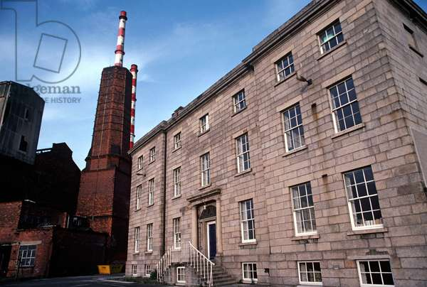 Pigeon House Generating Station, as referred to in James Joyce 'Dubliners', Dublin, Ireland (photo)