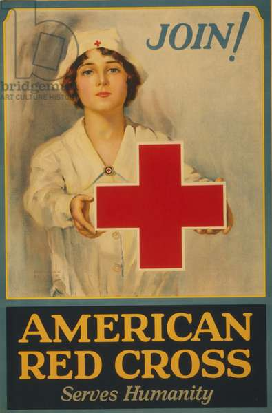 American Red Cross serves humanity Join! (poster)