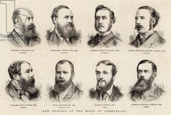 New Members of the House of Commons, IV (engraving)