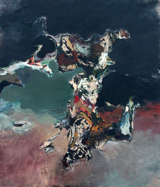 Frenzy, 1987 (oil & acrylic on linen)