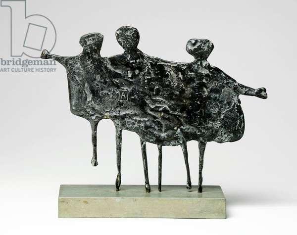 Children Playing, 1953 (bronze)