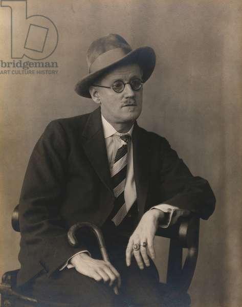 James Joyce, 1929 (gelatin silver print)