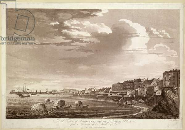 A view of Margate, with the Bathing Place.
