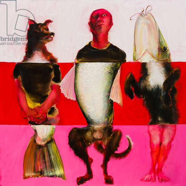 Misfits,  2013, (oil on linen)