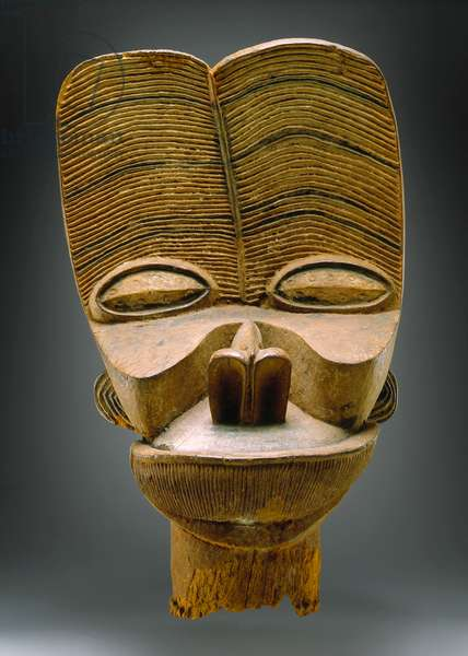 Bamileke Night Society Mask (wood)