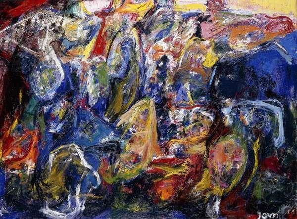 Mobile Standstill, 1966 (oil on canvas)