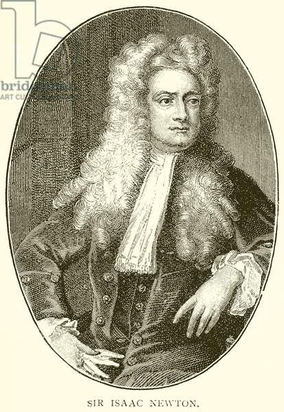 Sir Isaac Newton (engraving)