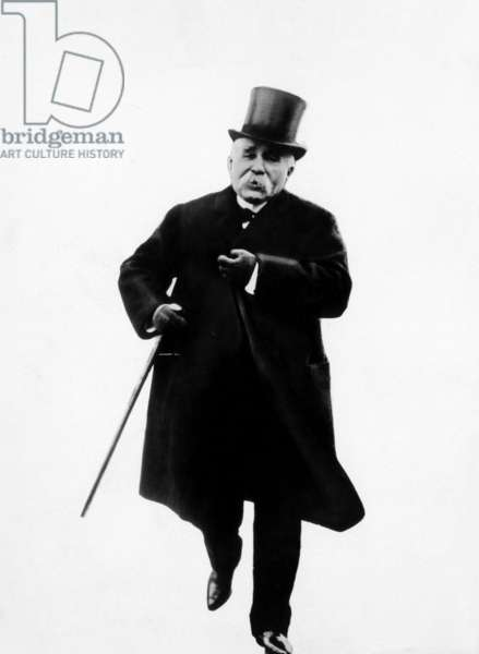 Former Premier of France Georges Clemenceau, 1920s