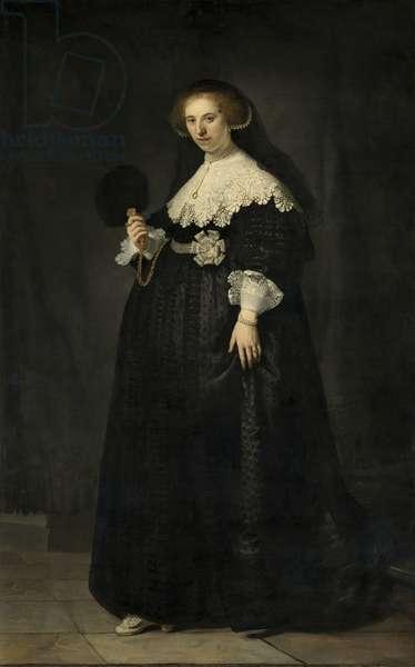Portrait of Oopjen Coppit, 1634 (oil on canvas)