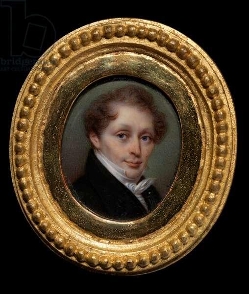 Portrait of Franciscus Joseph Kinsoen (oil on canvas)