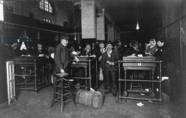 Final Discharge from Ellis Island, 1902