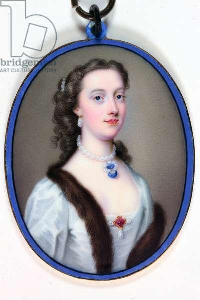 Lady Margaret Cavendish-Holles-Harley, Duchess of Portland (enamel)