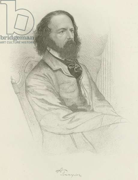 Alfred, Lord Tennyson (engraving)