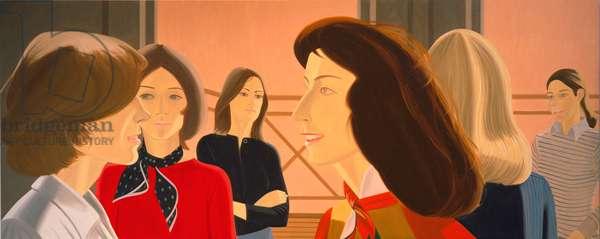 Six Women, 1975 (oil on canvas)