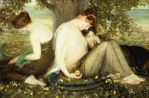 Garden of the Hesperides, c.1900 (oil on canvas)