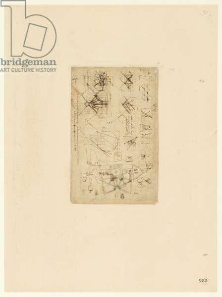 Codex Atlanticus, sheet 982 recto