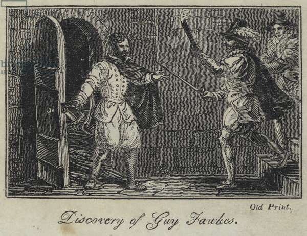 Discovery of Guy Fawkes (engraving)