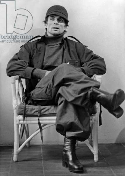 Russian dancer and choreographer Rudolf Nureyev during an interview in London on June 20, 1979