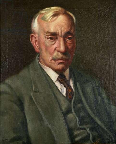 Portrait of D. Pugsley Gwynne, 1929 (oil on canvas)