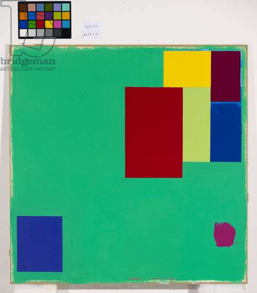 Untitled No.146, 1974 (acrylic on paper)