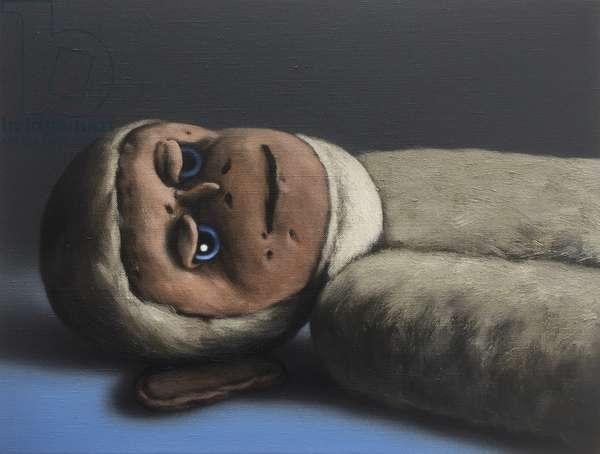 Timothy Monkey, 2016, (oil on canvas)