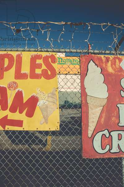 APPLES & ICE CREAM , 2008 , photograph
