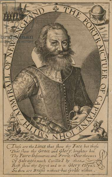John Smith (1579/80-1631), c.1617 (engraving)
