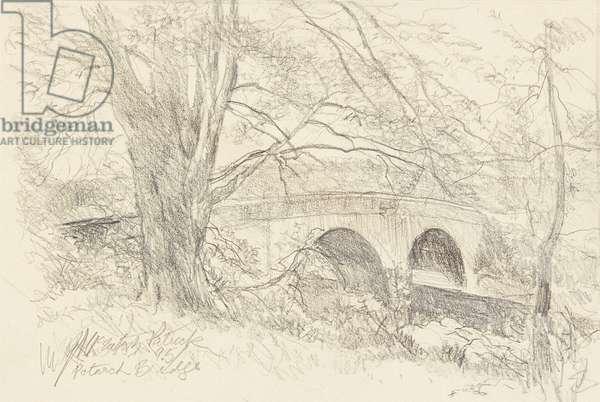 Potarch Bridge (watercolour)