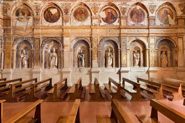 Interior of the Church of Santa Maria della Palomba, Matera, Italy (photo)