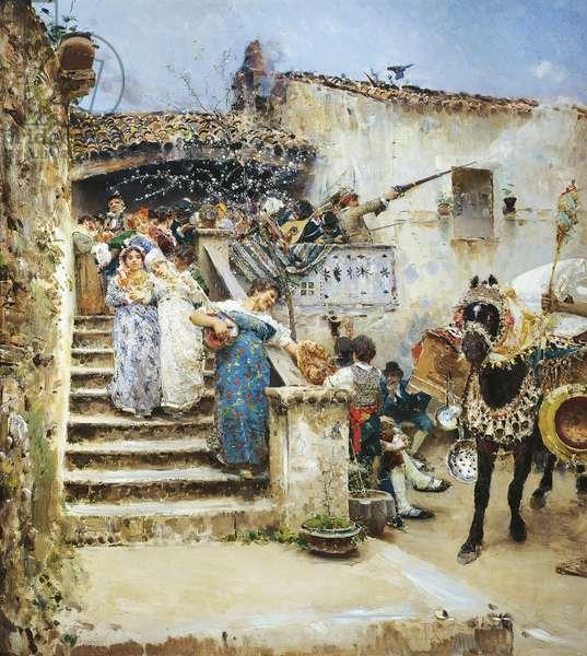 Marriage in Abruzzo, by Francesco Paolo Michetti, 1876, oil on canvas