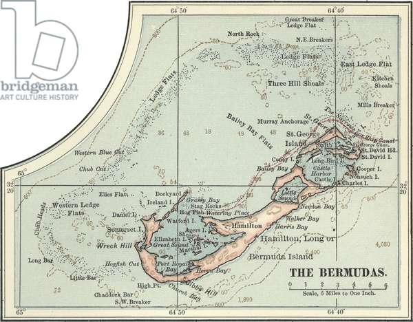 Map of the Bermudas