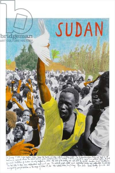 Sudan, 1961, 2018 (inkjet print on Hahnemühle paper)