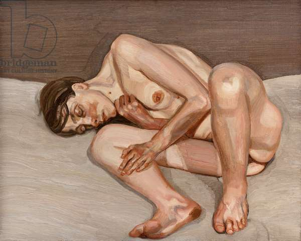 Small Naked Portrait, 1973-74 (oil on canvas)