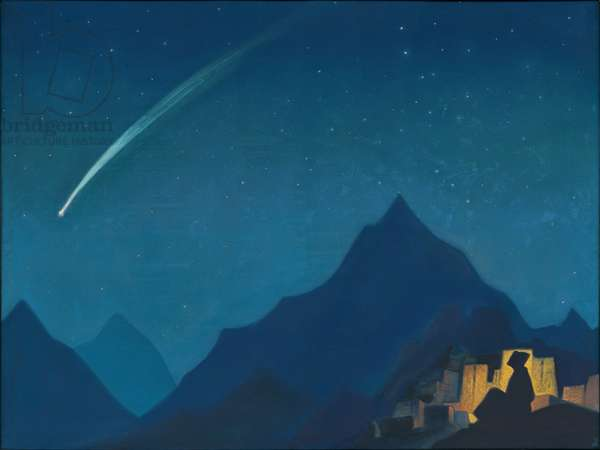 Star of the Hero, 1936 (tempera on canvas)